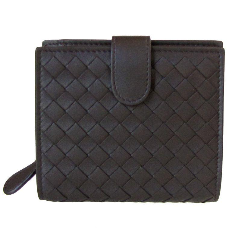 ボッテガヴェネタ 二つ折り財布 メンズ イントレチャート ウォレット エスプレッソ ダークブラウン 121059 V001N 2006