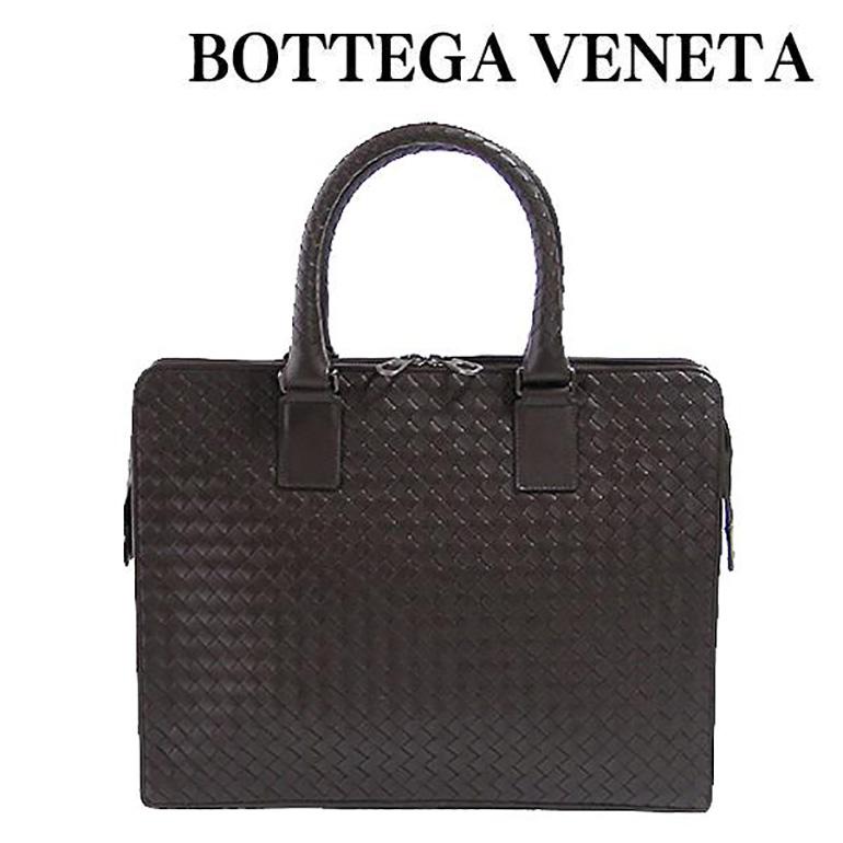 ボッテガヴェネタ バッグ BOTTEGA VENETA ビジネスバッグ ダークブラウン INTRECCIATO 194669-V4651-2040