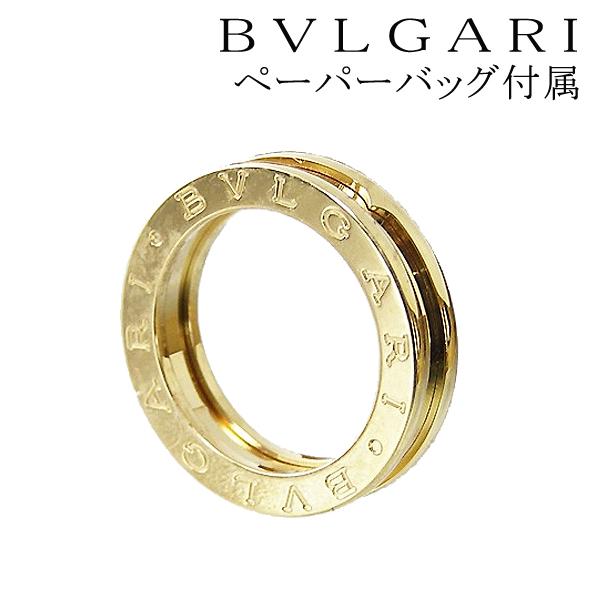 bvlgari ring bvlgari bzero1 ring b zero one 1band ring k18 yellow gold