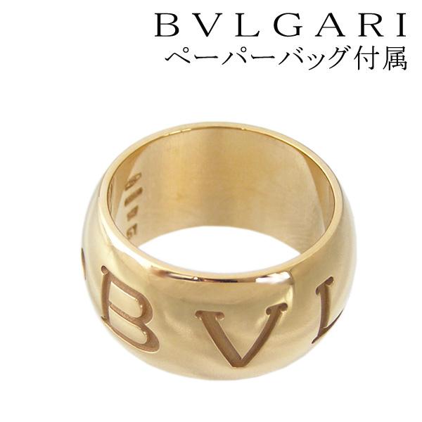 불가리 반지 BVLGARI 반지 모노 로고 반지 monologo 핑크 골드 AN854567