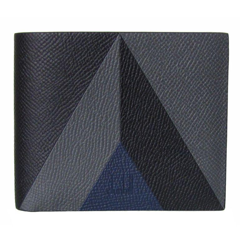 ダンヒル 二つ折り財布 メンズ カドガン マーケトリー ブラック 18F2340cm001