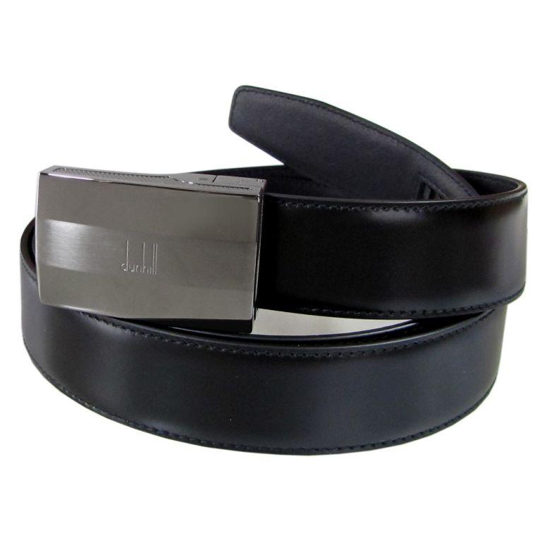 ダンヒル ベルト メンズ 幅3cm オートロック式 ブラック 18F4A04ST001