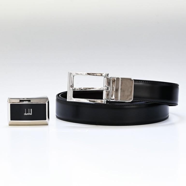 ダンヒル ベルト メンズ 幅3cm バックル2種 ベルト革帯セット ストリンガシステム対応 リバーシブル 18F4C01ST001 父の日