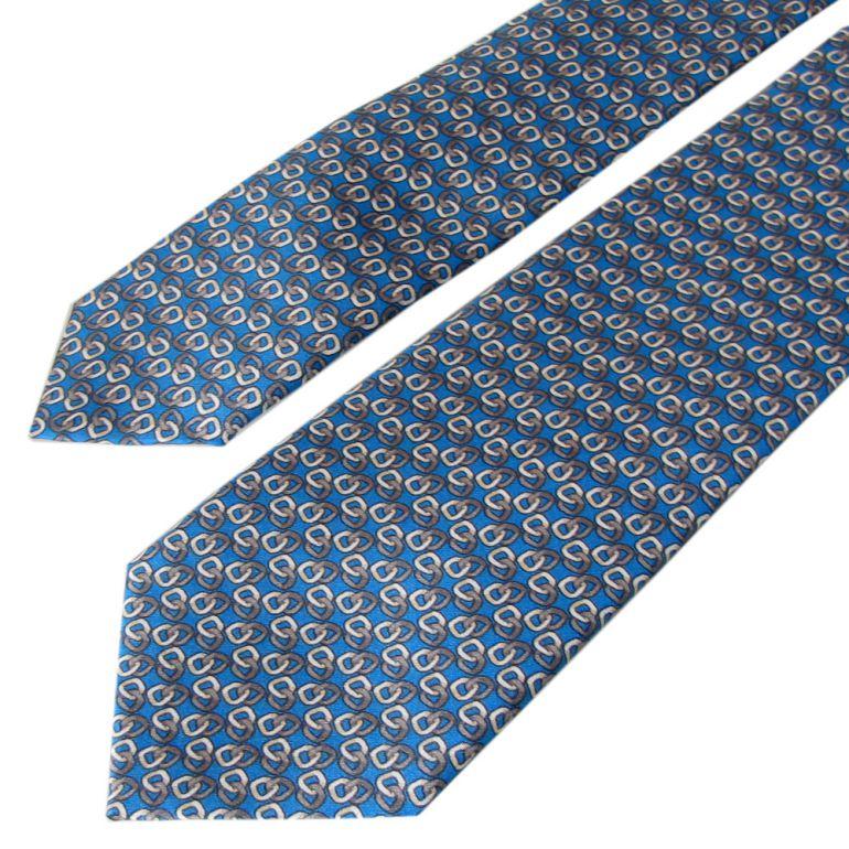 ダンヒル ネクタイ メンズ ブルー 大剣幅7cm シルク100% 19RPTP4TA430 MADE IN ITALY