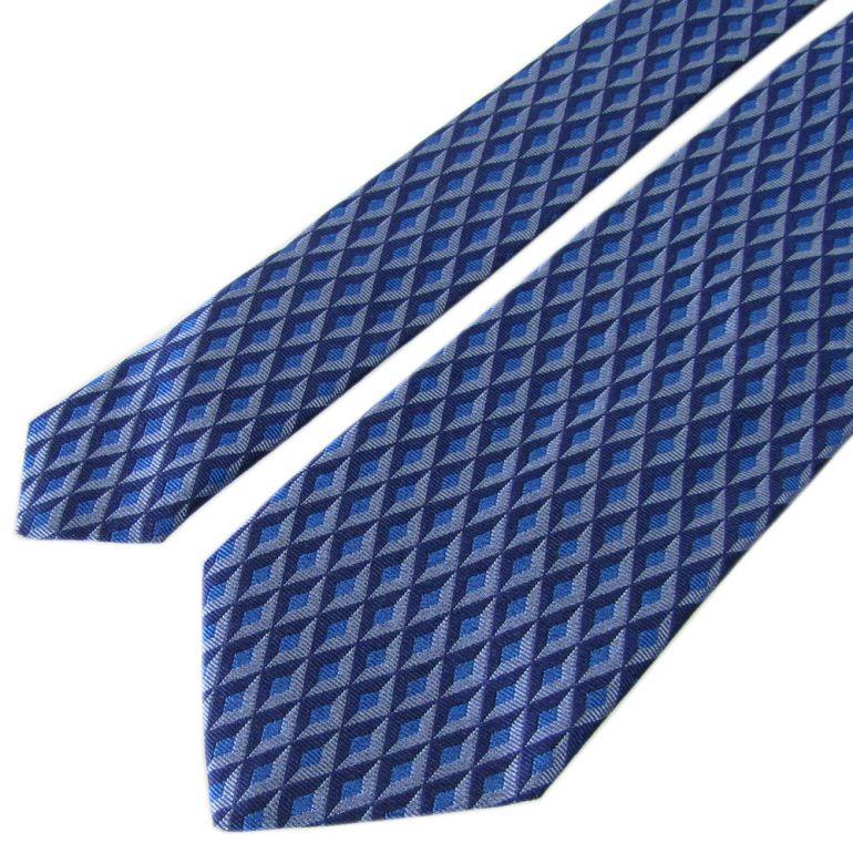 ダンヒル ネクタイ メンズ ブルー 大剣幅8cm シルク100% 18FPTW1ZG431R MADE IN ITALY バレンタインデー 父の日