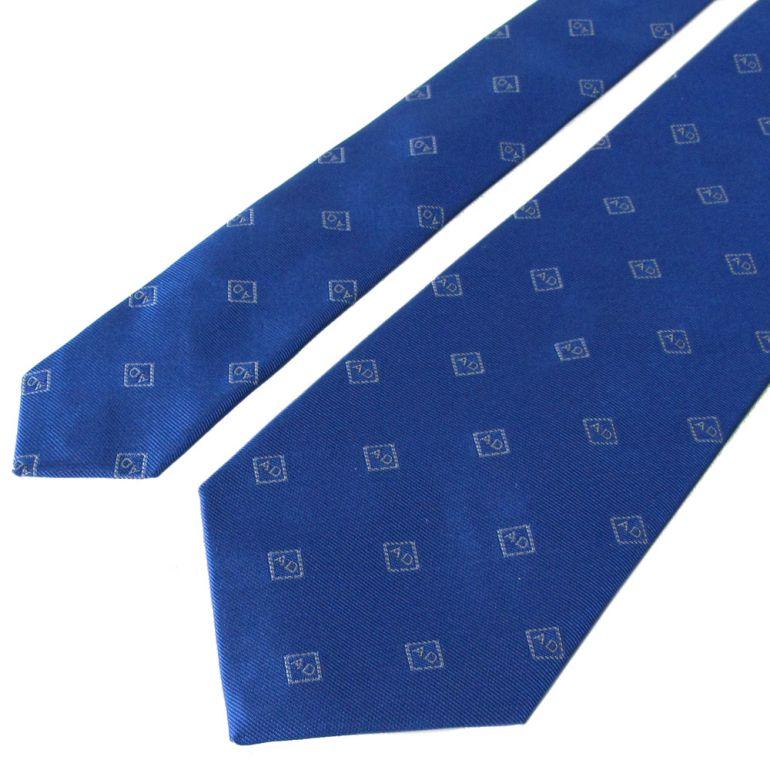 ダンヒル ネクタイ メンズ ブルー 大剣幅8cm シルク100% 19FPTW1XR431R MADE IN ITALY バレンタインデー 父の日