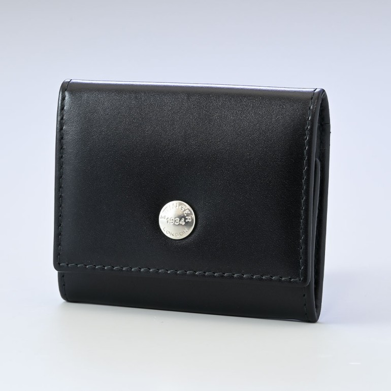 エッティンガー ETTINGER コインケース 小銭入れ ロイヤルコレクション メンズ ST145JR BLACK ブラック×パープル 父の日