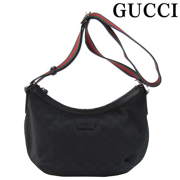 b5755850327 Gucci by GUCCI bag shoulder bag GG canvas Messenger Bag Black x green   red  GUCCI 181092 F4F5R 1060