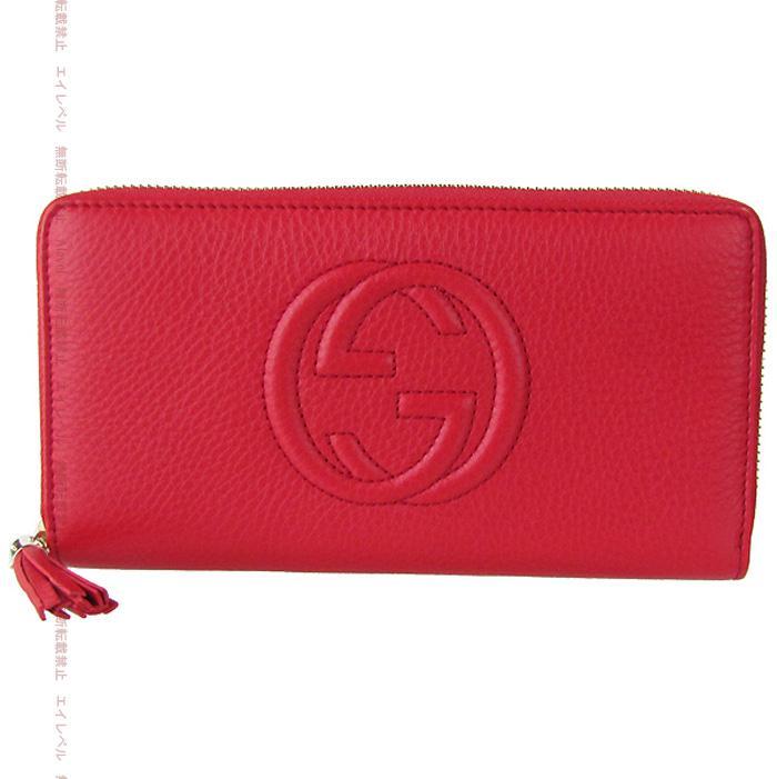 f3105fc8ed1d Gucci wallets GUCCI wallets women's SOHO SOHO CELLARIUS セラリウス tassel  Tabasco red 308004 A 6523 ...
