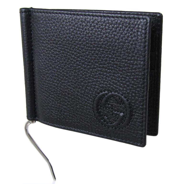 92e5a0809c70 alevel: Gucci by GUCCI money clip SOHO SOHO moneycrippvoretto black 322119  A 7M0N1000 | Rakuten Global Market