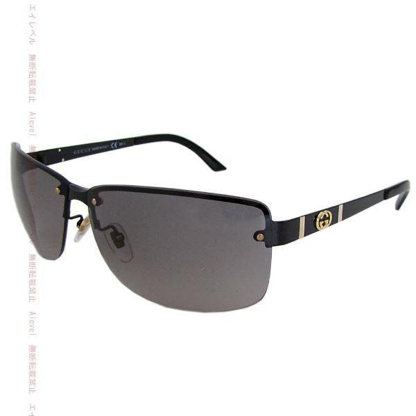 224c934117c Gucci sunglasses GUCCI model Asian fitting interlocking G shiny black    gold   dark green gradation unisex 4235 FS UWX EU 05P05Sep15