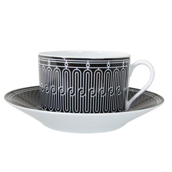 【単品販売箱なし】 エルメス HERMES Hデコ 037015P モーニングカップ&ソーサー 一客 340ml 母の日