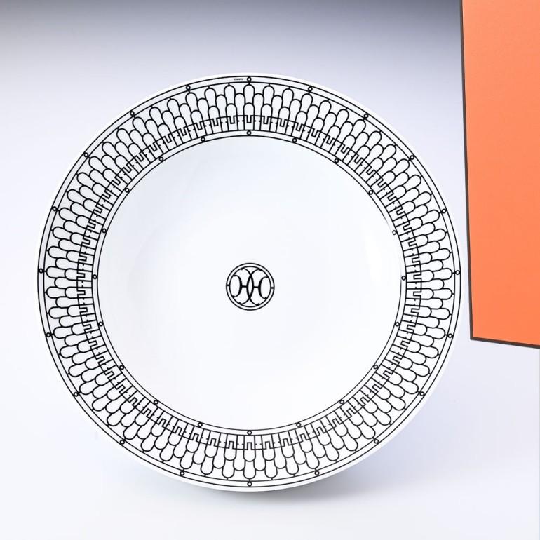 エルメス 大皿 ディッシュ プレート Hデコ H DECO アッシュデコ 29.5cm 37026P 母の日