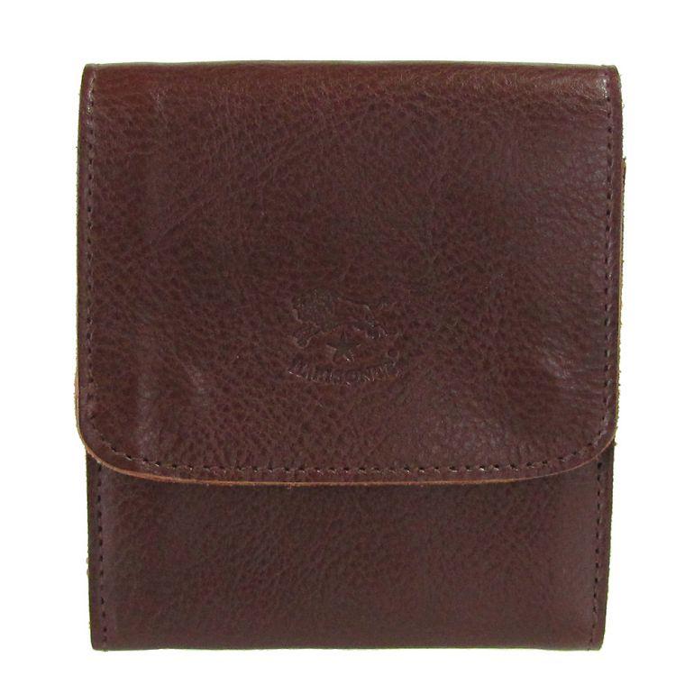 イルビゾンテ 二つ折り財布 メンズ レディース カウハイドレザー マローネ C0984 P 869