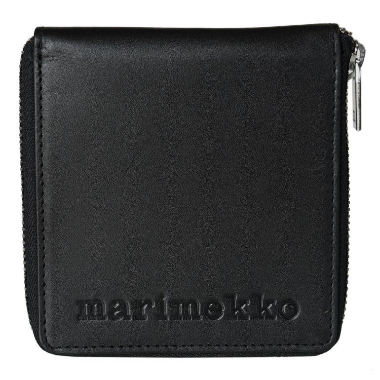 マリメッコ ウォレット 財布 Enean ブラック 47573 900