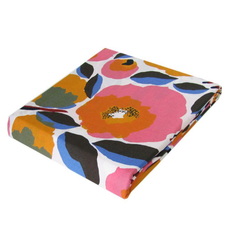 マリメッコ デュベカバー Rosarium ロサリウム 掛け布団カバー シングル 150×210cm 69409 130
