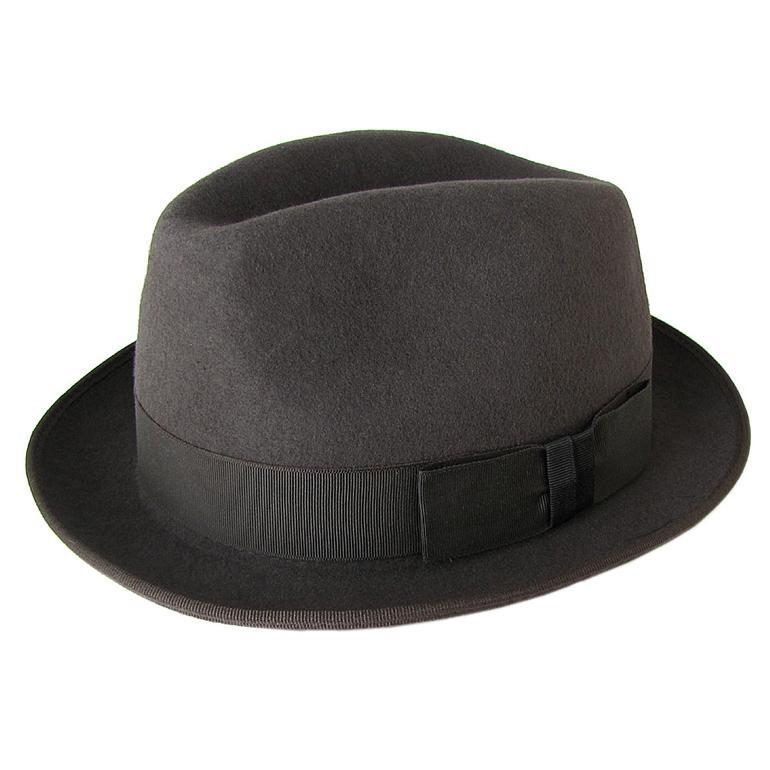ポールスミス ハット 帽子 Paul Smith メンズ 中折れハット Mサイズ ウール メンズ レディース ユニセックス チョコレートブラウン MADE IN ENGLAND ANXA 556C H241 C