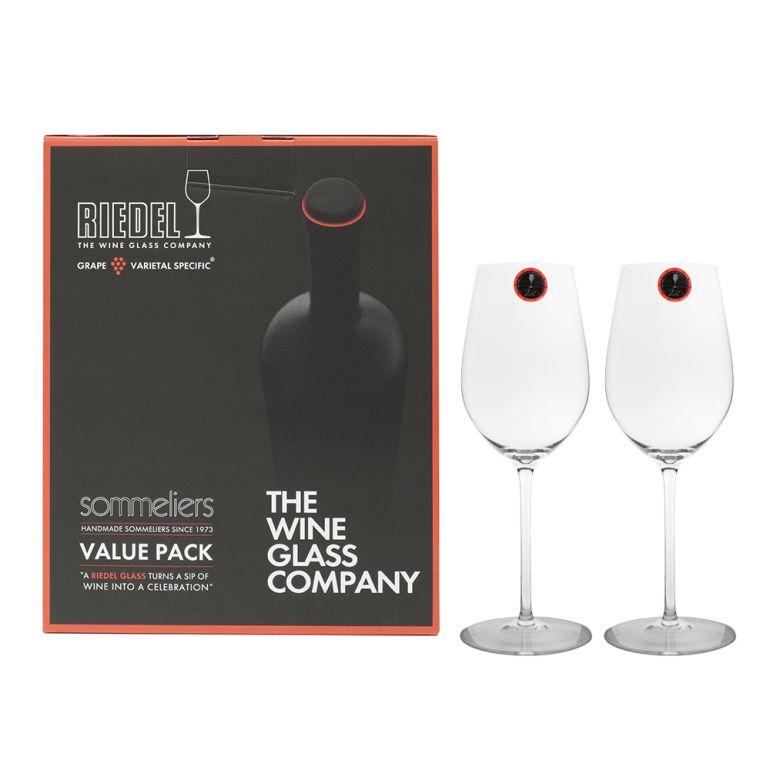 リーデル RIEDEL ワイングラス ペア ソムリエ バリューパック 260周年記念 リースリング グラン クリュ ジンファンデル 380ml 2440/15