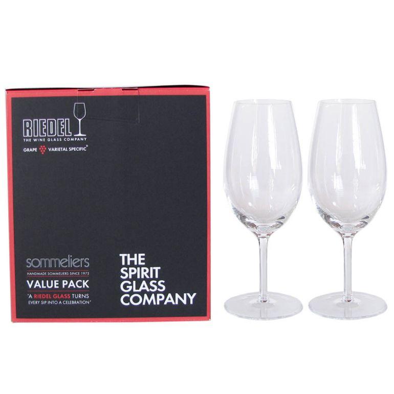 リーデル RIEDEL ワイングラス ペア ソムリエ バリューパック ヴィンテージ・ポート 250ml 2440/60