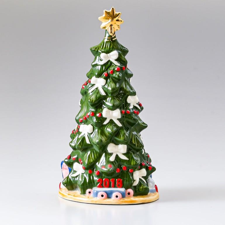 ロイヤルコペンハーゲン フィギュア アニュアルクリスマスツリー 2018年度限定 クリスマス フィギュリン 1024799 (1252003) 日本未発売