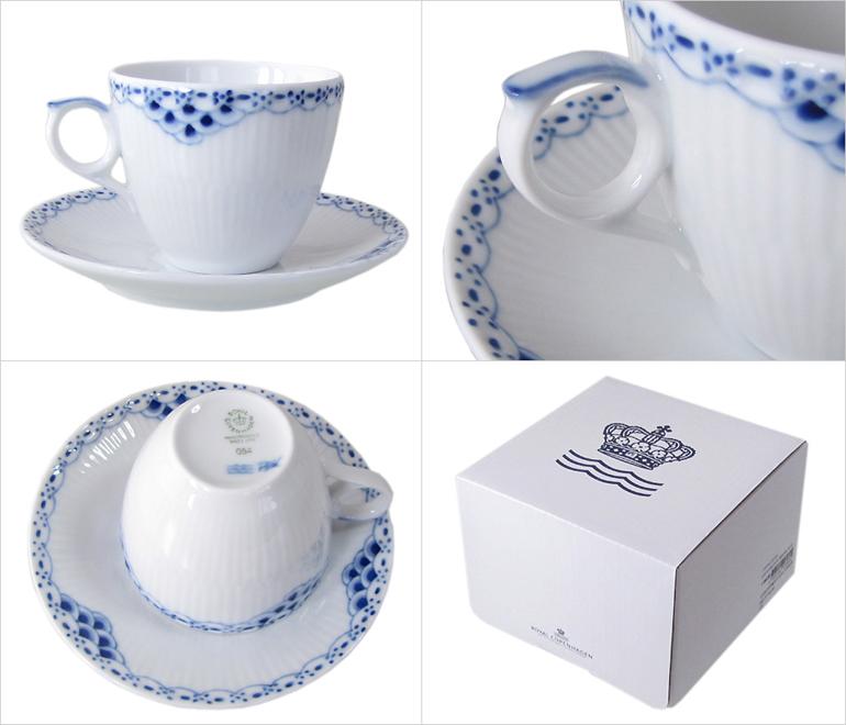 皇家哥本哈根公主摩卡杯与碟 100 毫升 1104053