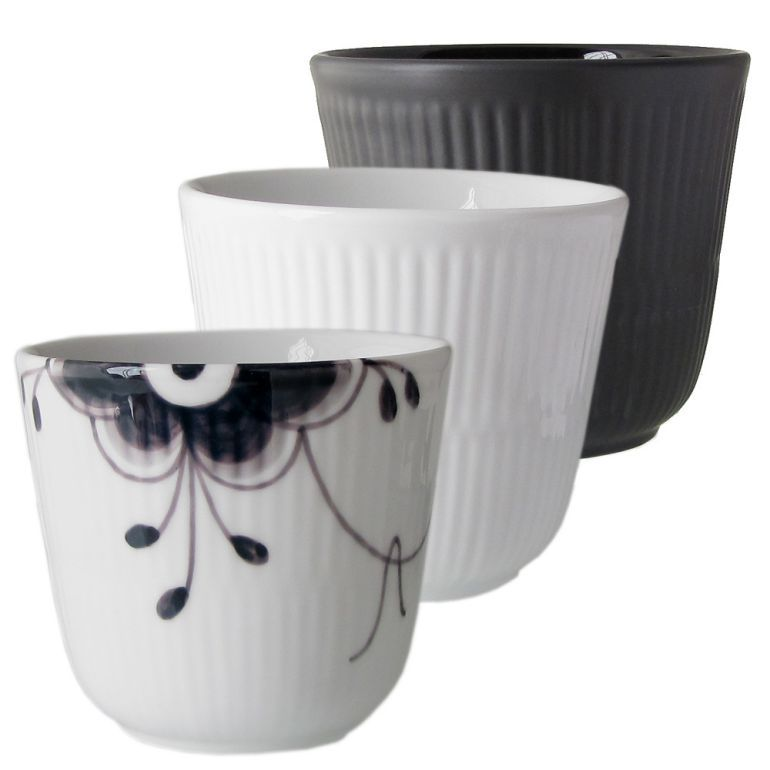 ロイヤルコペンハーゲン ヒストリーミックス サーマルマグ ブラックメガ ブラック ホワイト 3個セット BLACK FL BLACK MEGA WHITE マグカップセット HISTORY MIX 2961048