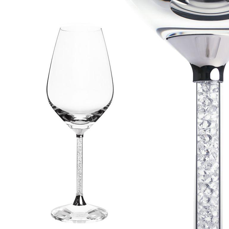 スワロフスキー SWAROVSKI ワイングラス クリスタルライン 白ワイン 1095947-1