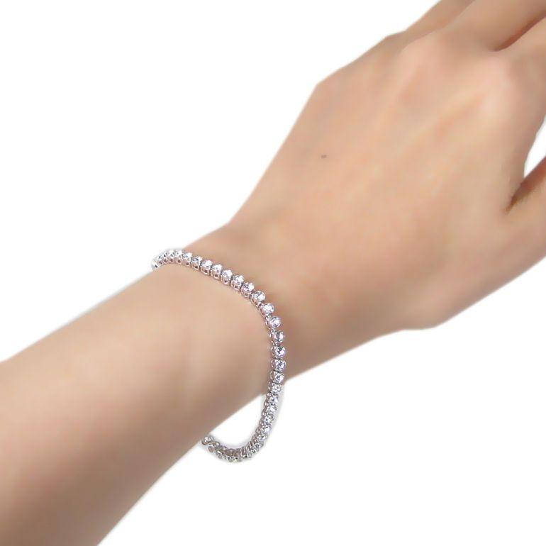 f98a119cc ... SWAROVSKI Swarovski bracelet Emily Emily Small tennis breath 3mm *17cm SWAROVSKI  1808960