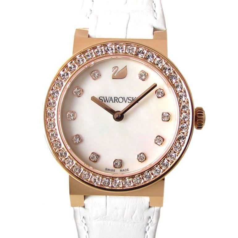 スワロフスキー SWAROVSKI 腕時計 シトラ スフィア ミニ ホワイト ローズゴールドトーン 5027219