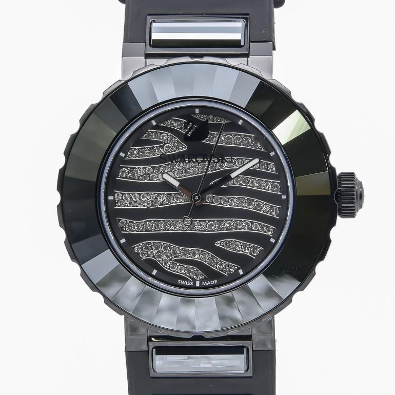 スワロフスキー SWAROVSKI 腕時計 NEW OCTEA SPORT ZEBRA レディース ブラック 5040563 母の日