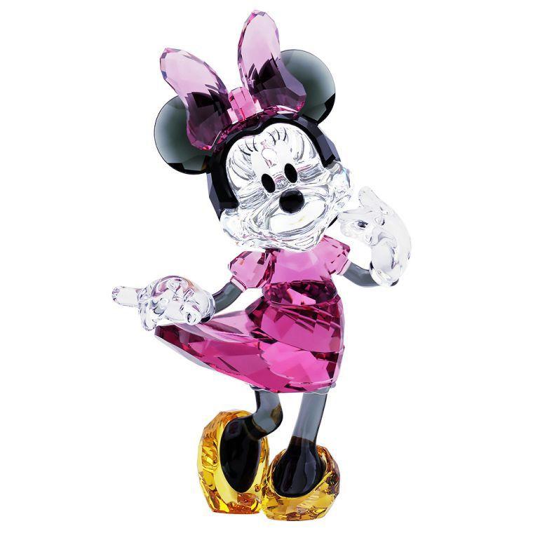 スワロフスキー SWAROVSKI クリスタルフィギュア MINNIE MOUSE ミニーマウス Disney ディズニー オブジェ 置物 5135891