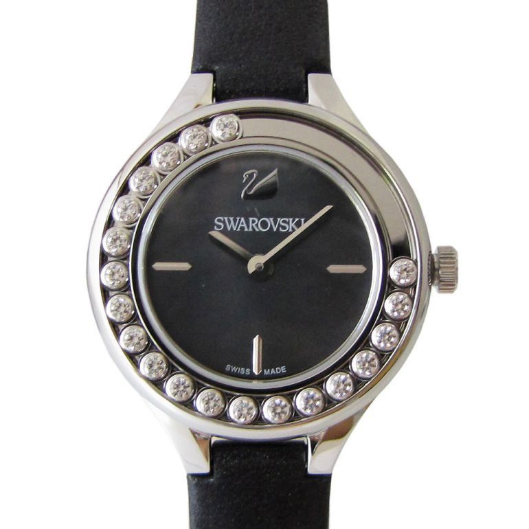 スワロフスキー SWAROVSKI 腕時計 レディース Lovely Crystals Mini ブラック 5242898