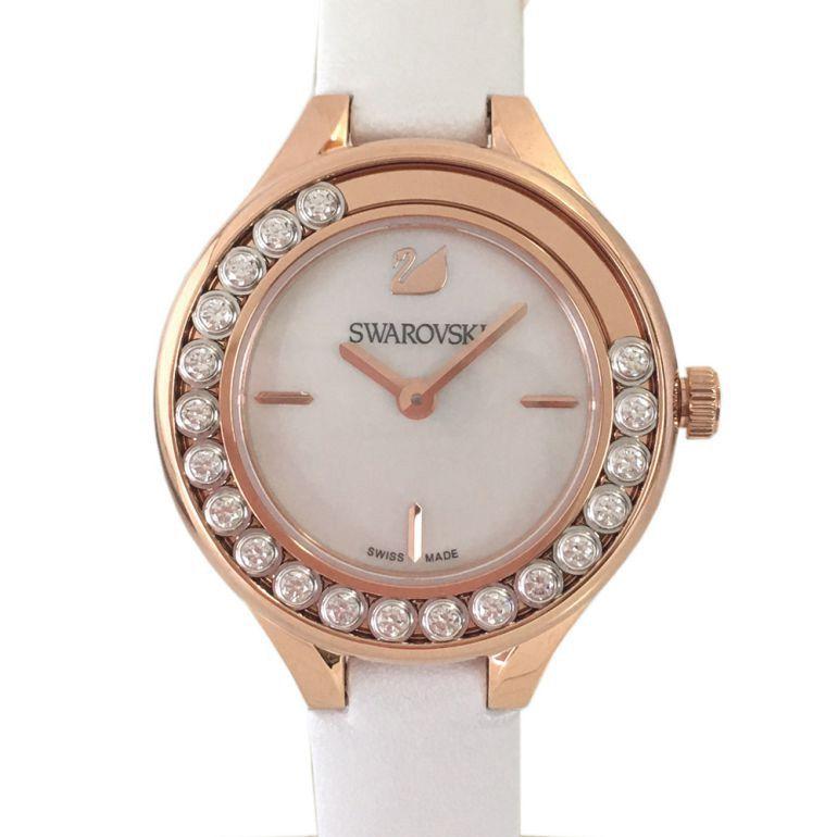 スワロフスキー SWAROVSKI 腕時計 レディース Lovely Crystals Mini ホワイト 5242904