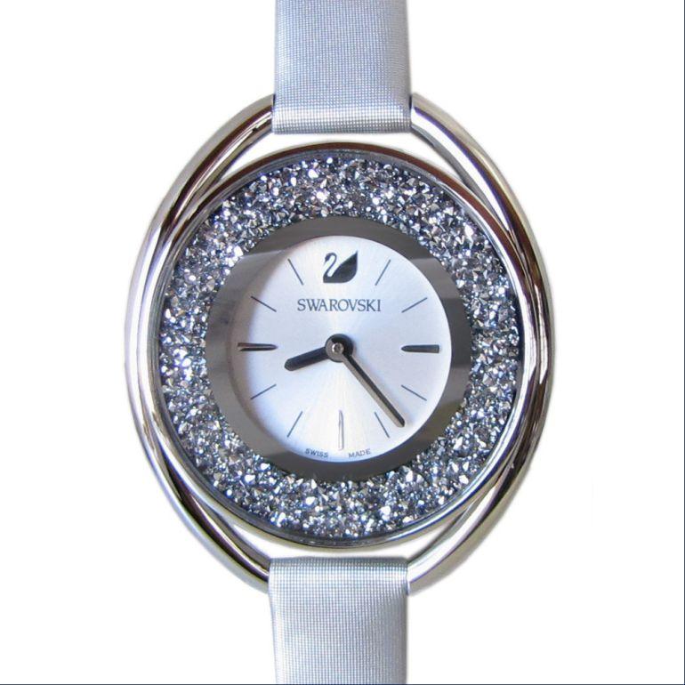スワロフスキー 腕時計 レディース CRYSTALLINE OVAL ウォッチ クリスタルライン オーバル シルバー 5263907 母の日