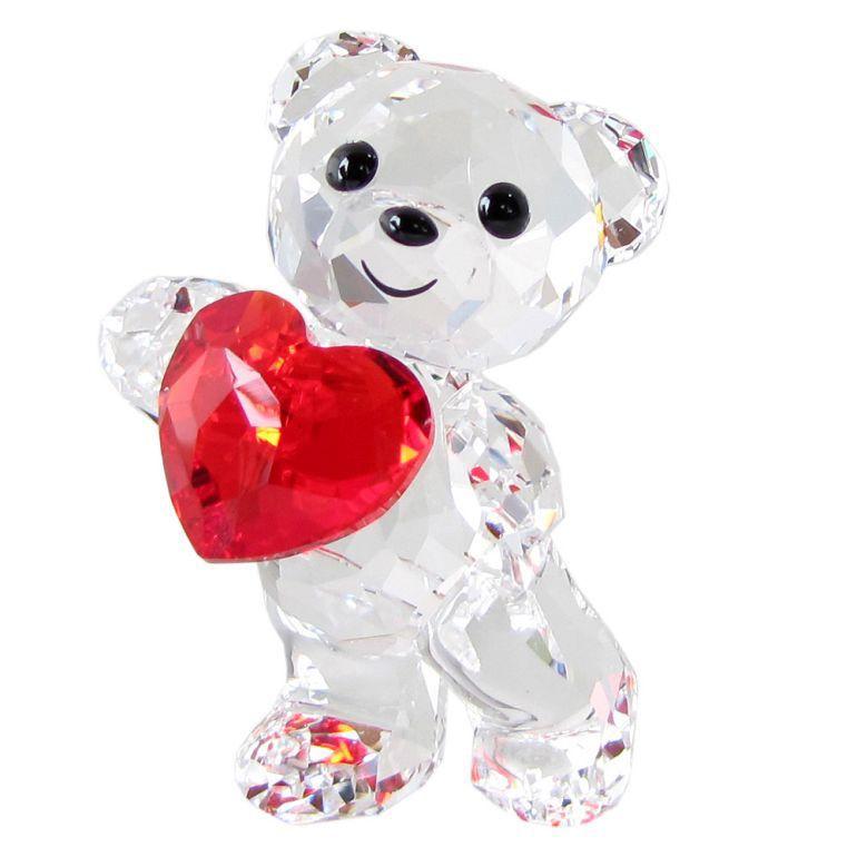 スワロフスキー SWAROVSKI フィギュリン Kris ベア A Heart for You フィギュア オブジェ 置物 5265310