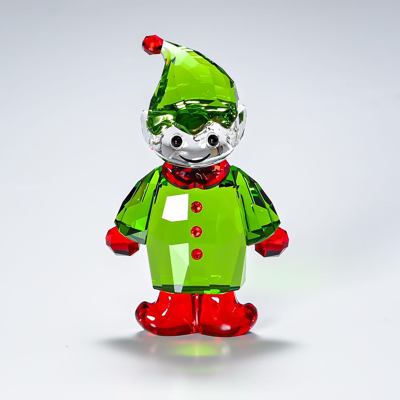 スワロフスキー SWAROVSKI フィギュリン SANTA'S HELPER サンタの妖精 クリスマス フィギュア オブジェ 置物 5286532