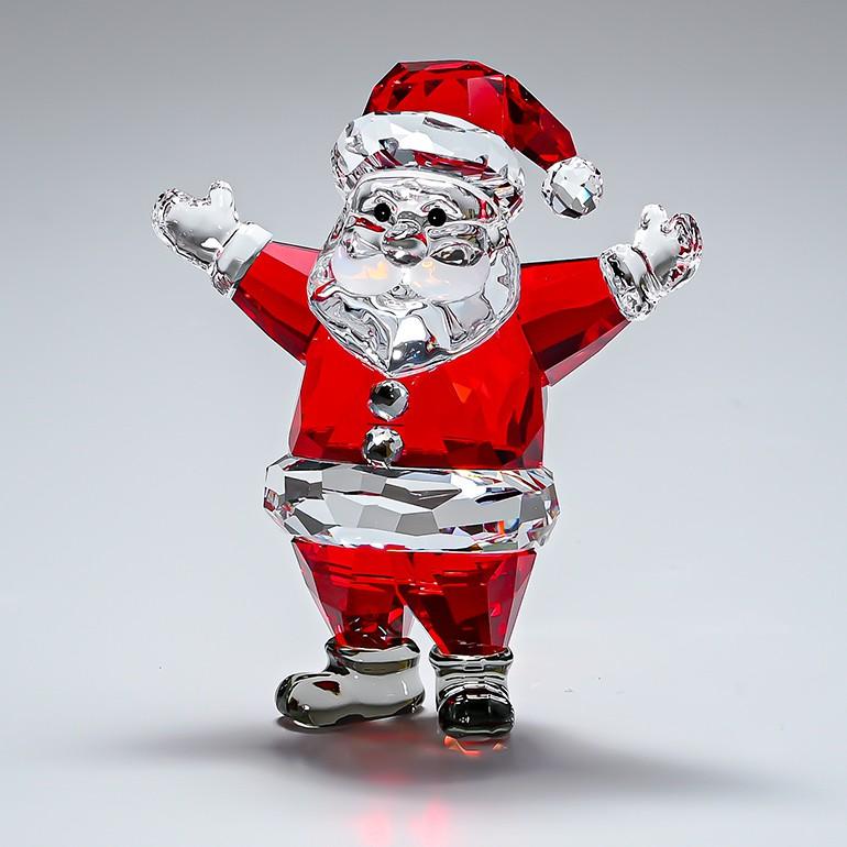 スワロフスキー フィギュリン サンタクロース SANTA CLAUS クリスマス フィギュア オブジェ 置物 5291584 母の日