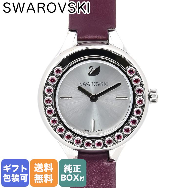スワロフスキー SWAROVSKI 腕時計 レディース Lovely Crystals Mini バーガンディ 5295331