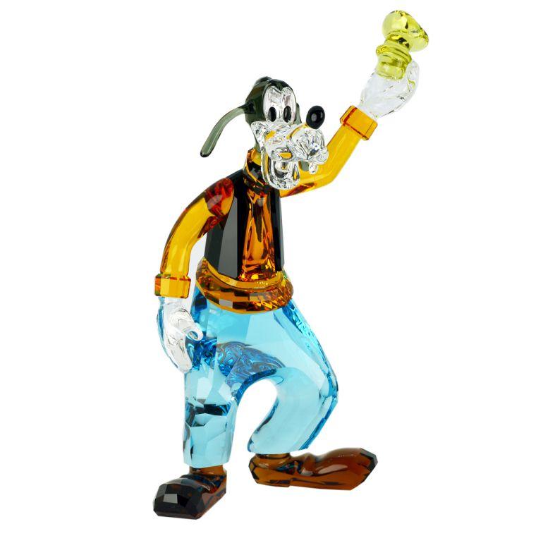 スワロフスキー クリスタルフィギュア GOOFY グーフィー Disney ディズニー 犬 オブジェ 置物 5301576