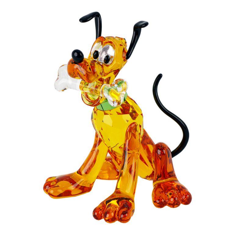 スワロフスキー クリスタルフィギュア PLUTO プルート Disney ディズニー 犬 オブジェ 置物 5301577