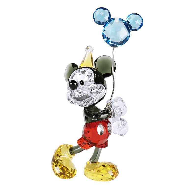 スワロフスキー クリスタルフィギュア ミッキーマウス セレブレーション Disney ディズニー インテリア オブジェ 置物 5376416