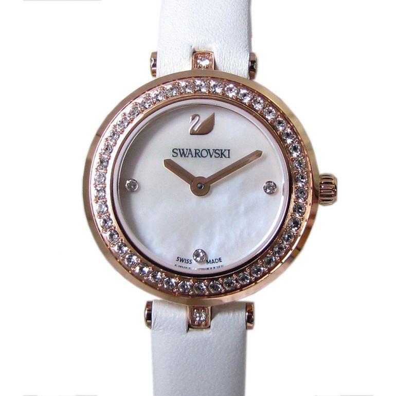 スワロフスキー 腕時計 レディース Aila Dressy Mini ウォッチ ホワイト ローズゴールド 5376651