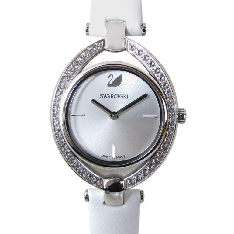 スワロフスキー 腕時計 レディース Stella ウォッチ ホワイト シルバー 5376812 母の日