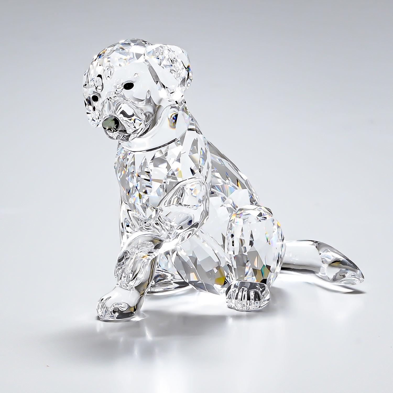 スワロフスキー フィギュア ラブラドールのお母さん LABRADOR MOTHER 犬 ドッグ オブジェ 飾り インテリア 5399004 母の日