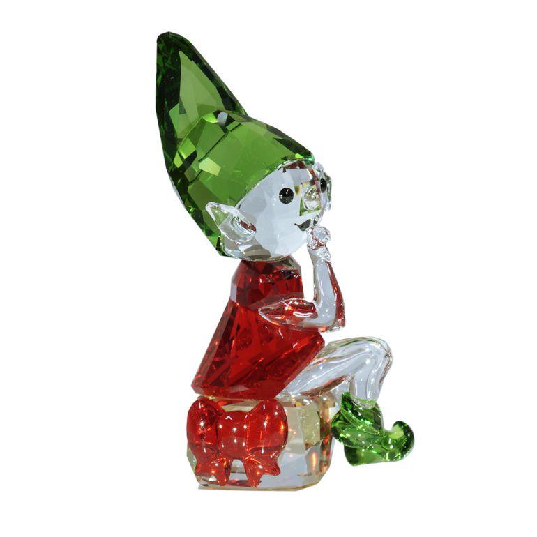 スワロフスキー フィギュリン サンタの妖精 SANTA'S ELF クリスマス フィギュア オブジェ 置物 5402746 母の日