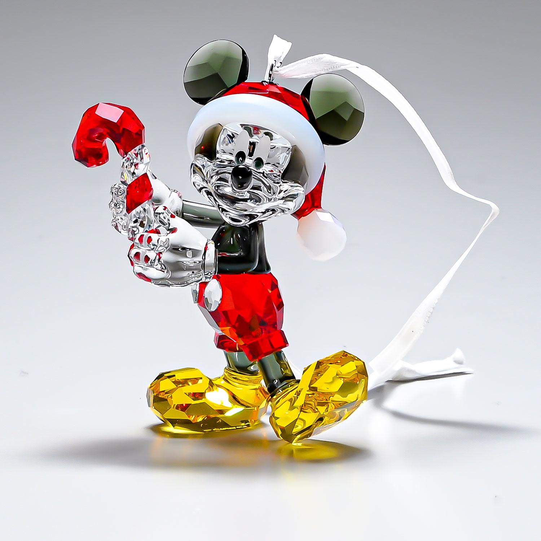 スワロフスキー オーナメント ミッキーマウス ディズニー クリスマス オーナメント オブジェ 飾り インテリア 5412847