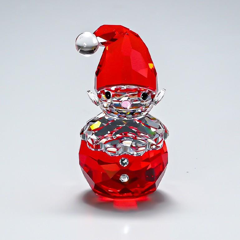 スワロフスキー フィギュア フィギュリン 永遠の定番 ロッキング エルフ ROCKING クリスマス オブジェ 5402745 ELF 人気ブレゼント! 置物