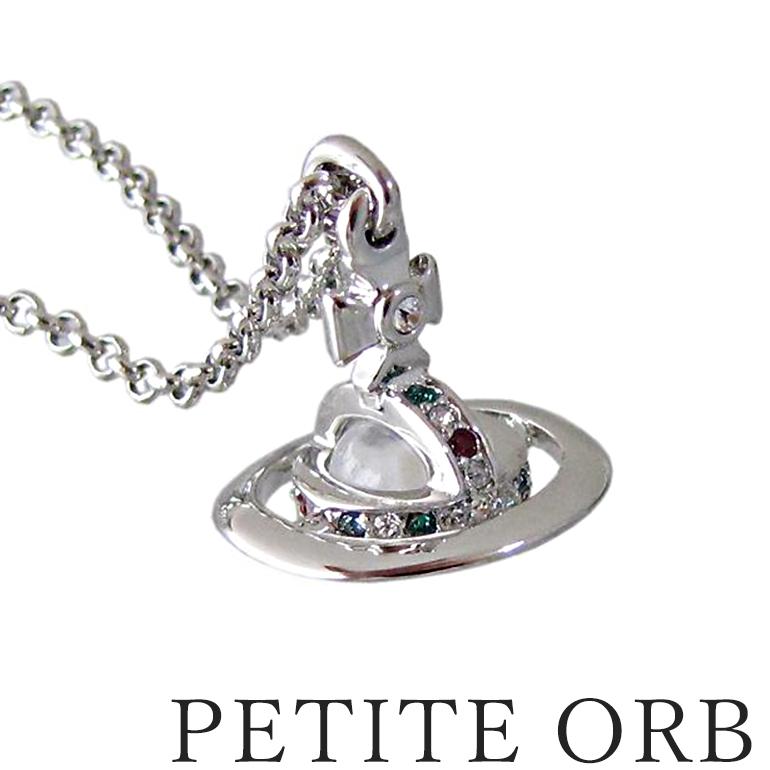 ヴィヴィアンウエストウッド ネックレス ペンダント NEW PETITE ORB プチオーブ ペンダント シルバー 母の日