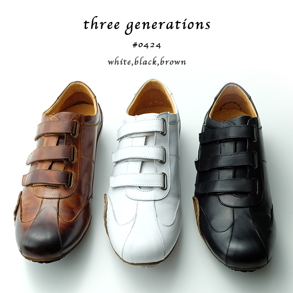 55f38442298f 楽天市場】「three generations(スリージェネレーションズ)」ベルクロ ...