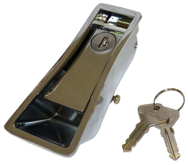 アルファマジック トランクオープナークロームメタルタイプ アルファロメオ スパイダー 105系 115系